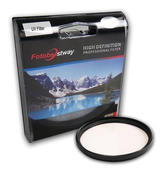 Filtro Proteção Uv 37mm Fotobestway Câmera Fotográfica