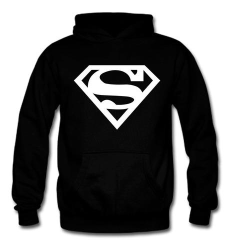 Poleron Estampado Superman, Fanatico 100% Algodón