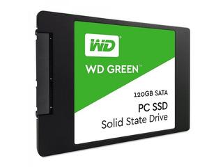 Disco Ssd Wd 120gb Green - 2.5 Sata Iii 3d (wds120g2g0a)