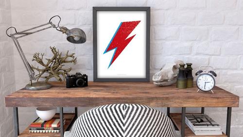 Poster Bowie. Print. Lámina Impresa Para Cuadro.