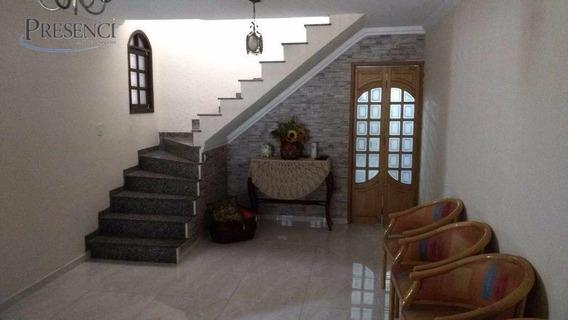 Sobrado Com 3 Dormitórios À Venda, 190 M² Por R$ 590.000,00 - Penha - São Paulo/sp - So0024