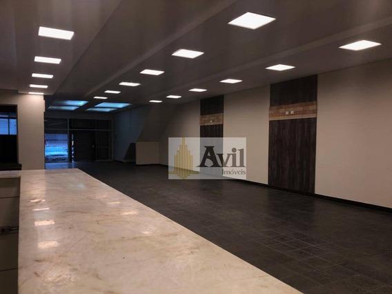 Salão Para Alugar, 450 M² Por R$ 18.000/mês - Vila Gomes Cardim - São Paulo/sp - Sl0063