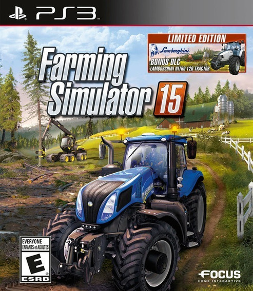 Farming Simulator 15 Ps3 Psn Legendas Português Promoção Br