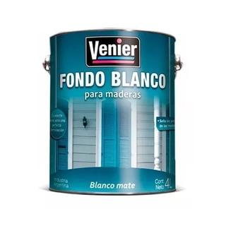 Fondo Blanco Venier Pintura Base P/madera 1lt Pintumm