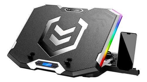 Cooler Laptop Gaming Luz Led 6 Ventiladores 7n Universal K9