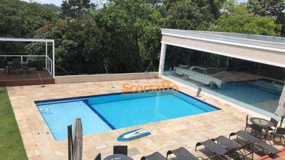 Casa Com 5 Dormitórios Para Alugar, 650 M² Por R$ 7.000/mês - Chácara Da Lagoa - Itapecerica Da Serra/sp - Ca1538