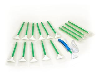 Hisopos De Limpieza De Sensores Vswabs Mxd-100 Verde 1....
