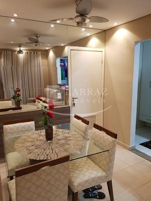 Lindo Apartamento Para Venda No Iguatemi, Cond Reauville, 2 Dormitorios Sendo 1 Suite, 54 M2, Portaria 24h E Lazer Completo - Ap01374 - 33914831