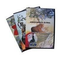 Imagem 1 de 2 de Coleção Ecologia 03 Dvds Original  + Brinde