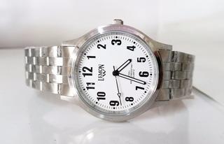 Reloj Lemon Hombre Acero Inoxidable Blanco O Negro