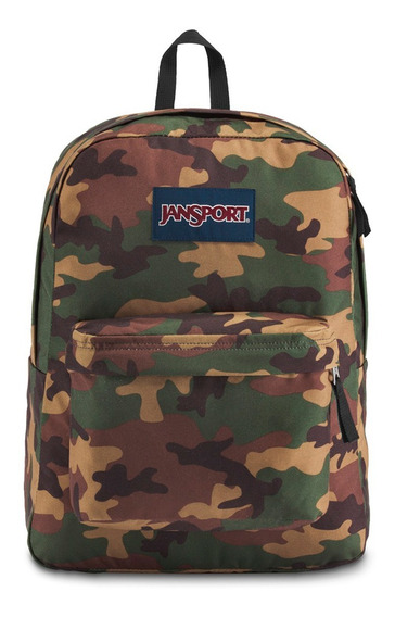 Mochila Jansport Super Break Camuflada