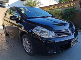 Nissan Tiida Sedan 2010/2011 1.8 Completo Preto