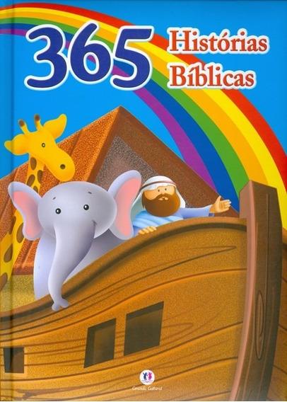 Livro Infantil - 365 Histórias Bíblicas - C. Dura Almofadada