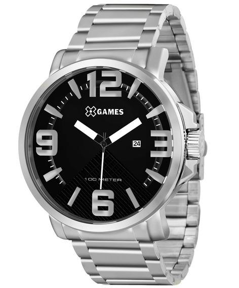 Relógio X-games Prata Masculino Xmss1029 P2sx