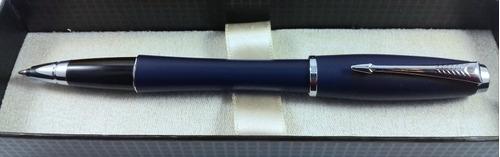 Lapicera Parker Roller Urban Navy Blue Grabado Gratis