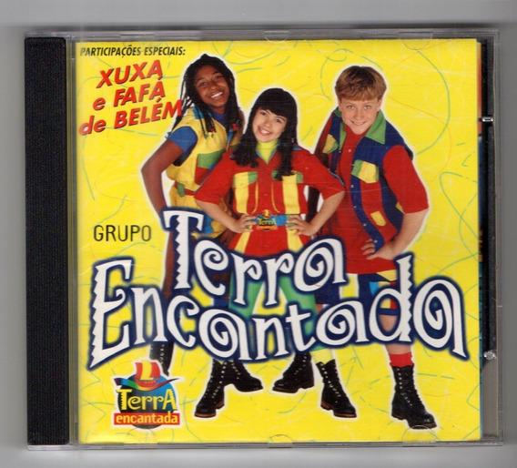 Cd Grupo Terra Encantada - Part. Xuxa - Frete Grátis