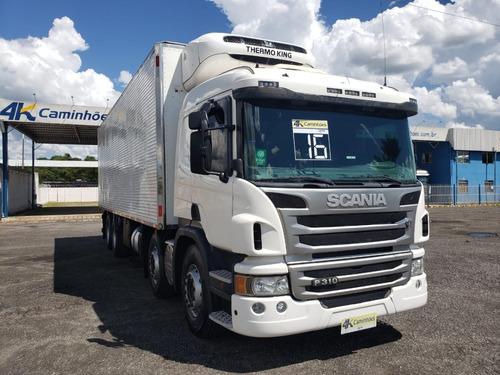 Imagem 1 de 15 de Scania P310 8x2, 2016 - Bitruck