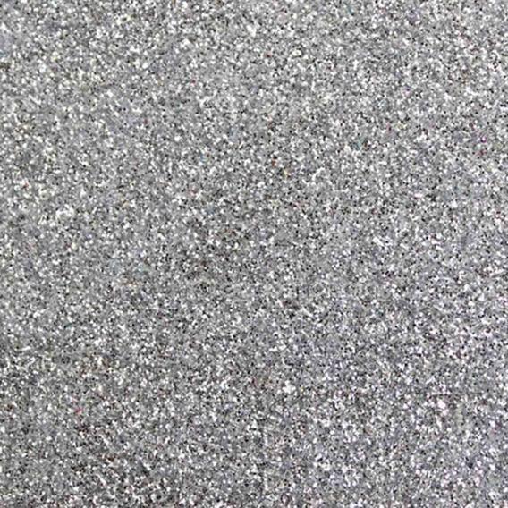 Glitter Purpurina Pó Brilho - Decoração - Prata - 500g