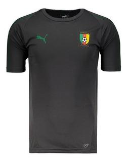 Camisa Puma Camarões Treino 2018