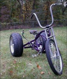 Projeto Triciclo Chopper