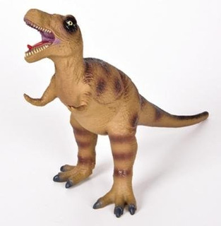 Dinosaurio T-rex 14 Pvc Bndo Figure By Rin