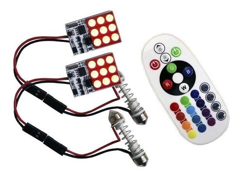 Imagen 1 de 4 de Modulo Leds Rgb Controlador Y Adaptador Puntas Dobles