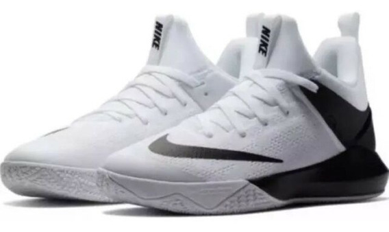 Oferta Tenis Nike Zoom Shift Blanco- Negro 29mx