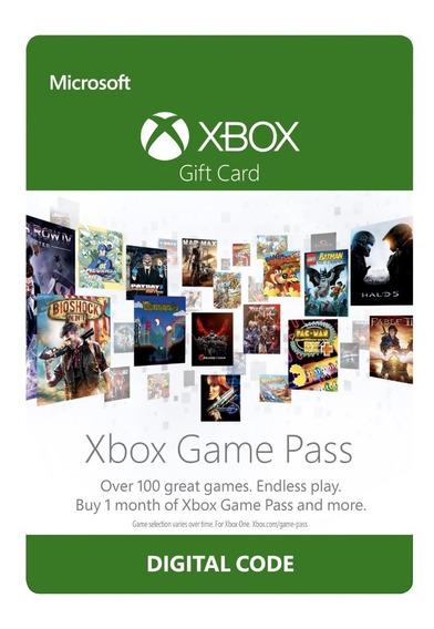 Xbox Game Pass Assinatura 1 Mês 30 Dias Revenda Autorizada