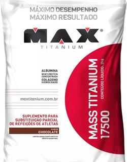Suplemento Alimentar Para Atletas Max Titanium 3kg Chocolate