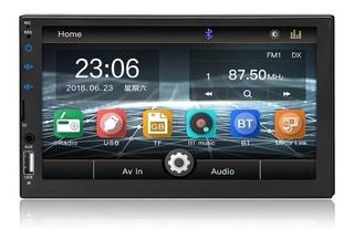 Radio Carro Mirrolink iPhone Y Android 7 Pulgadas Capacitiva