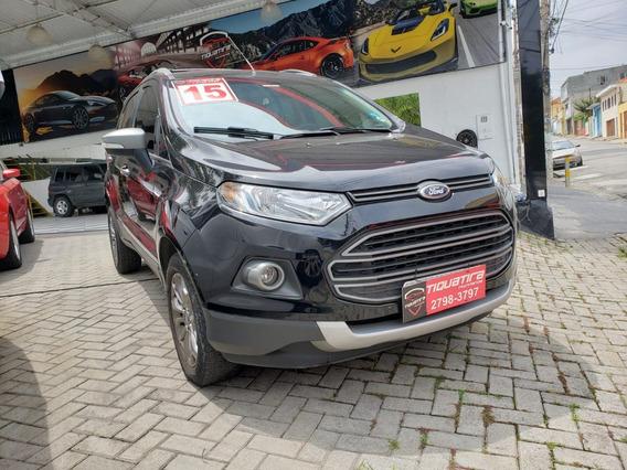Ford Ecosport Preta 2.0 16v Freestyle Flex Powershift 5p