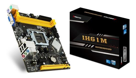 Ofertas Tarjeta Madre Biostar Intel H61 Lga1155 2xddr3 1600