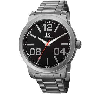 Reloj De Pulso Joshua & Sons Para Hombre, Con Movimiento