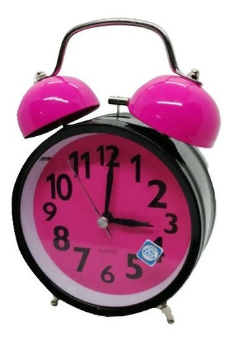Reloj Despertador Tamaño 11 X 17 Cm Varios Colores A39