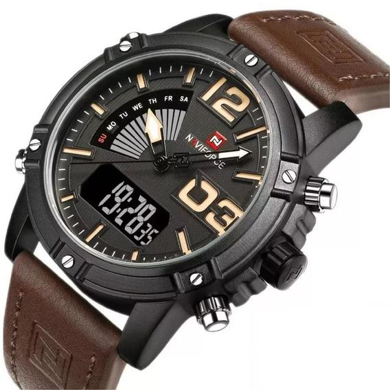 Relógio Masculino Esportivo De Alta Qualidade Da Marca Navif