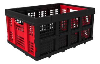 Canasto Plastico Organizador Plegable Y Apilable Hasta 25kg