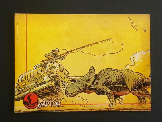 Trading Card Jurassic Park Raptor #3 Topps Los Germanes