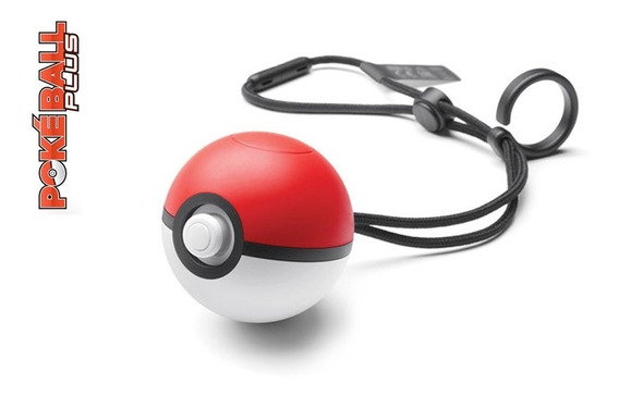 Pokeball Plus - Pokémon Lets Go - Pokebola Switch