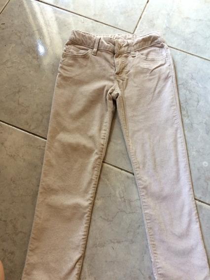 Pantalon De Nena Gap T 6 Con Brillos