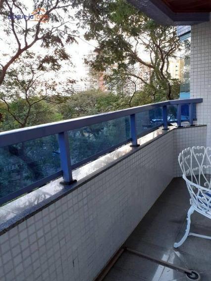 Apartamento Com 3 Dormitórios Para Alugar, 125 M² Por R$ 2.200/mês - Vila Adyana - São José Dos Campos/sp - Ap9908