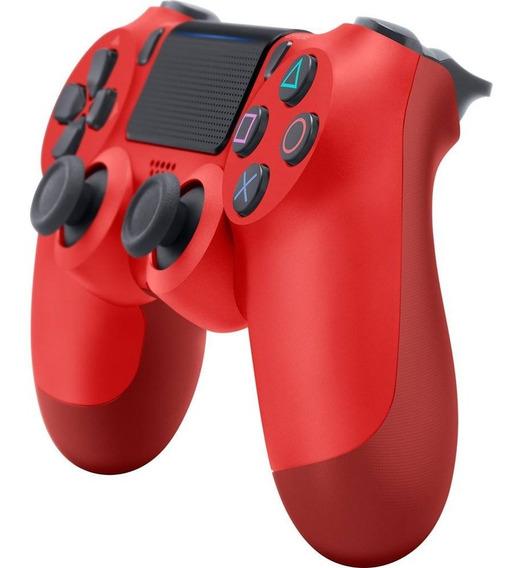 Controle Sem Fio Ps4 Dualshock Vermelho Sony Playstation 4