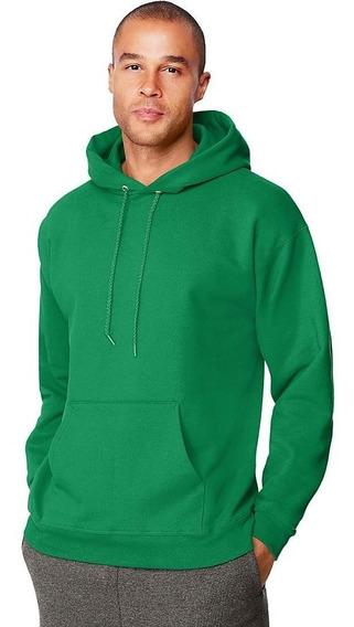Suéteres Unicolor Con Capucha