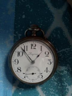 Reloj Longines 1987 Plata Pura