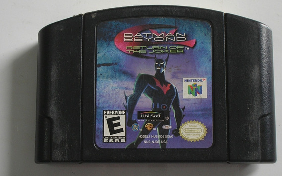Batman Beyond Return The Joker Nintendo 64 Original Usada