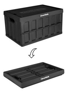 Caja Organizador Plegable Colapsable Clevermade Con Tapa