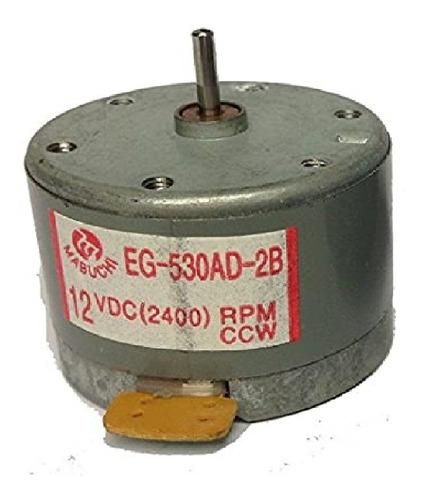 Imagen 1 de 2 de Motor Cc 12v 2400rpm (ccw) Con Regulación