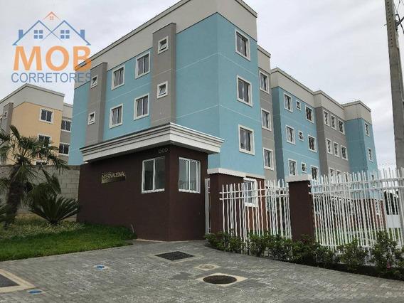 Apartamento Novo 1 Quarto Almirante Tamandaré - Valor Á Vista - Ap0378