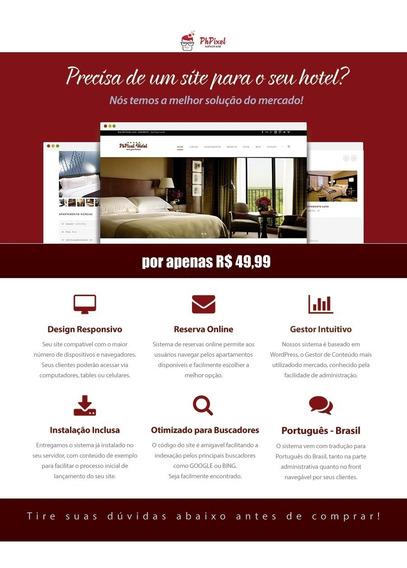 Site Para Hoteis, Com Sistema De Reservas Online - 10/2015