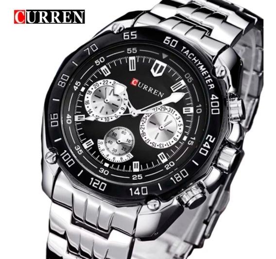 Relógio De Luxo Curren 8077 Masculino Original Promoção