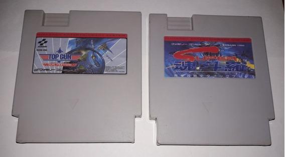 Super Contra / Top Gun Dual Fighters Para Nes